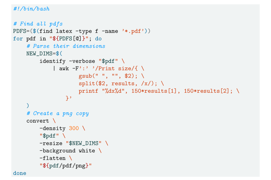 Syntax Highlighting in LaTeX with minted